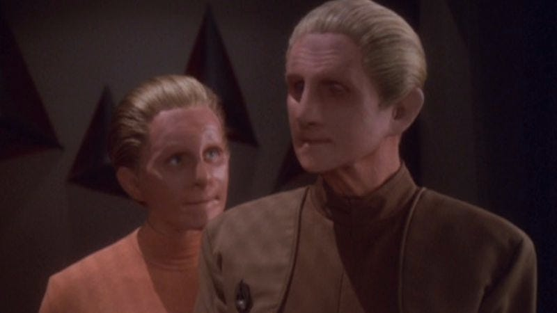 """Illustration for article titled Star Trek: Deep Space Nine: """"Sons And Daughters""""/""""Behind The Lines"""""""