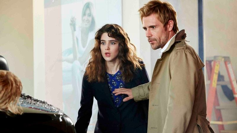 Constantine: A very important show about people who tragically can't close their mouths. (NBC)