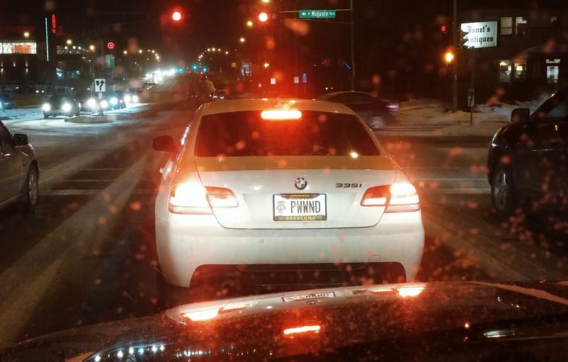 Illustration for article titled Why I don't have a vanity tag on my BMW