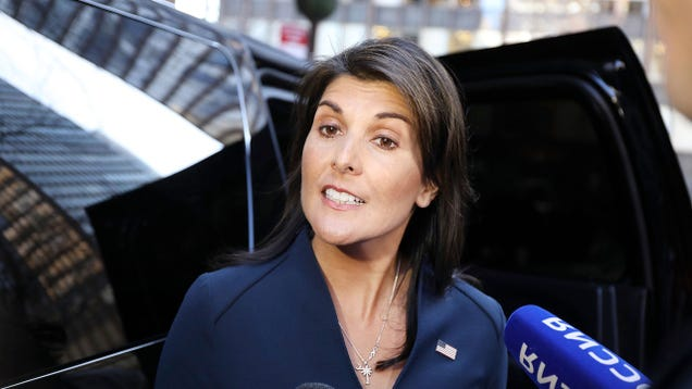 State Department Spent $52,000 on Motorized Curtains for Nikki Haley s Apartment