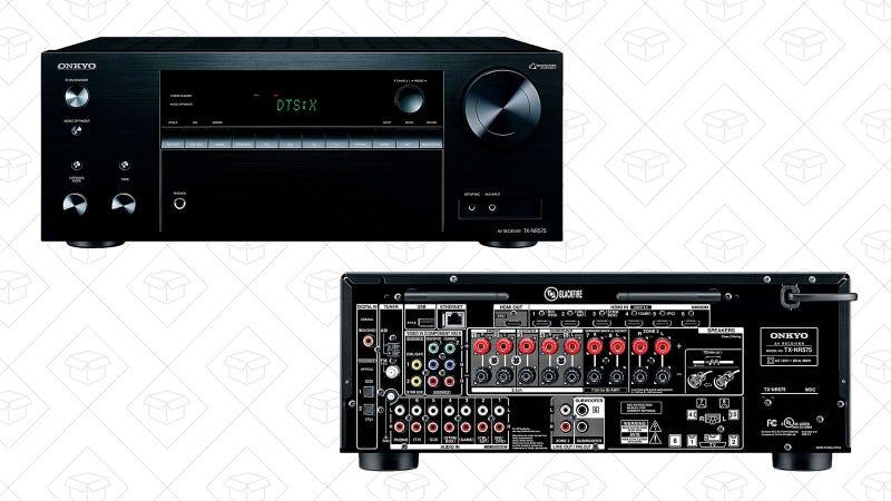 Onkyo A/V Receiver | $230 | Amazon