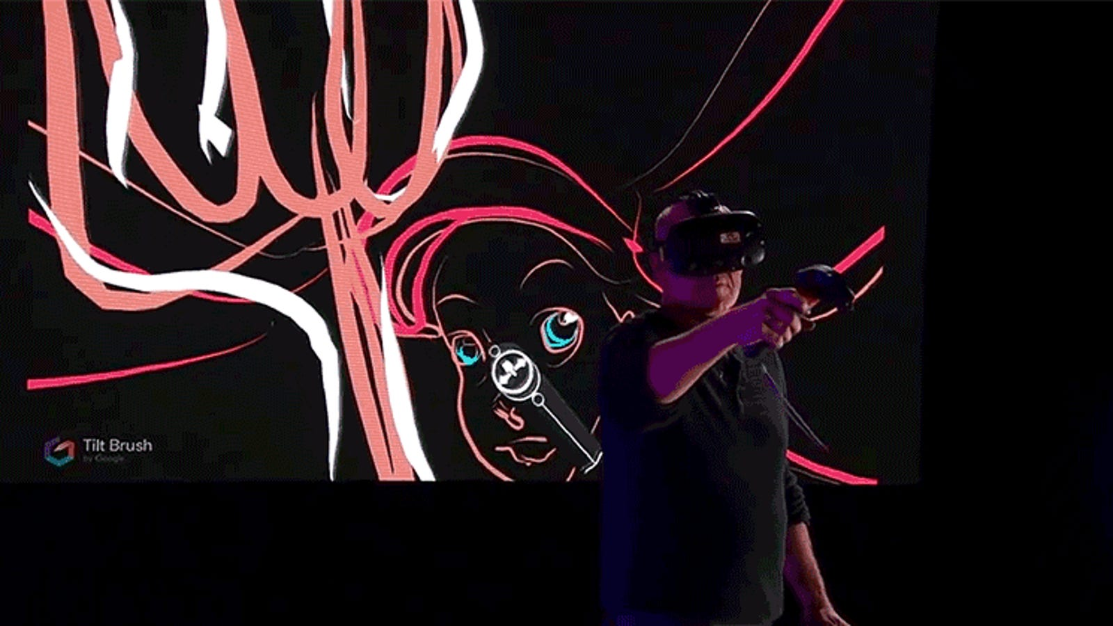 Watch a Legendary Disney Animator Draw Ariel From The Little Mermaid in Virtual Reality