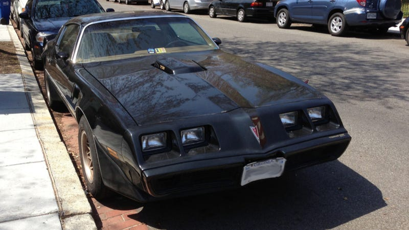 Illustration for article titled This Trans-Am Is A Great American Car In Our Nation's Capital