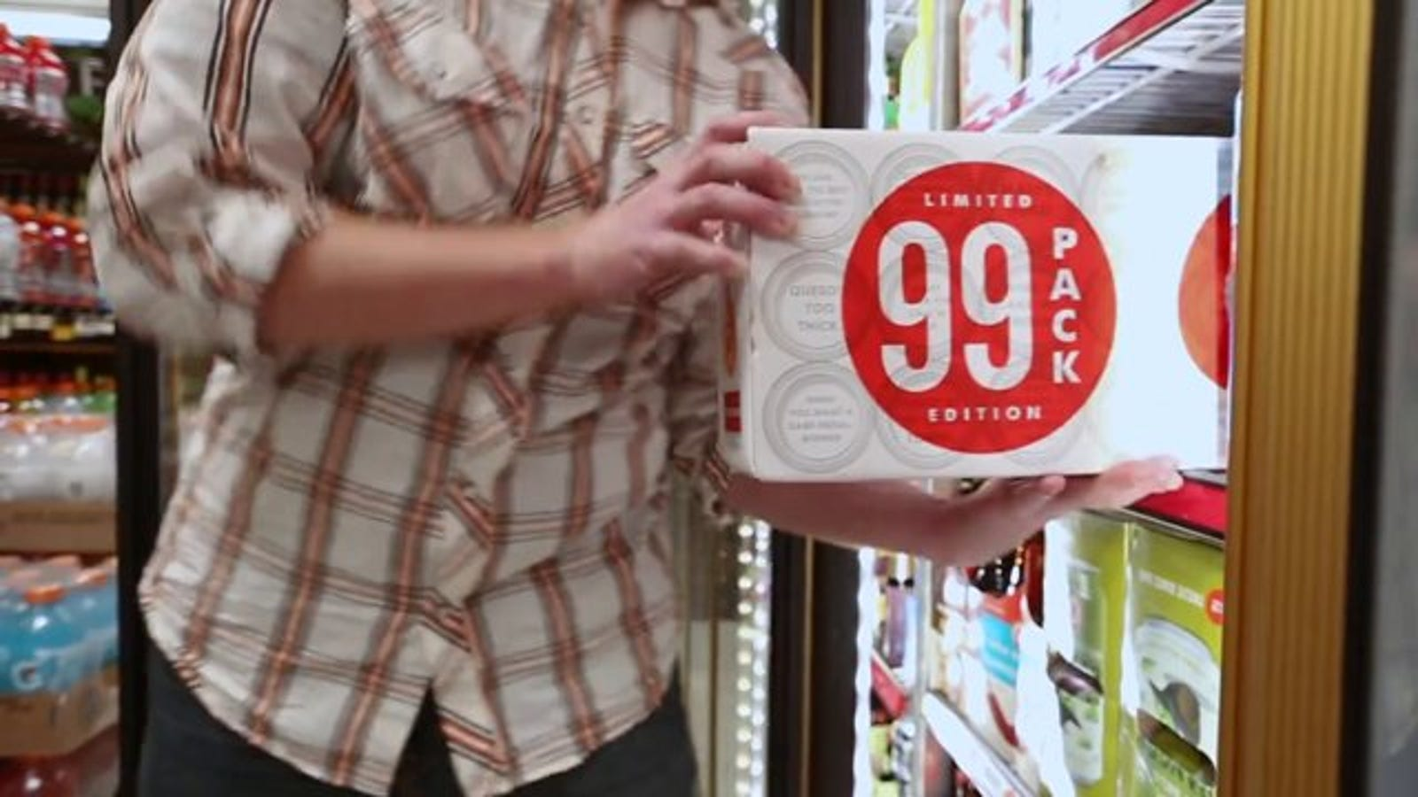 Good God, Someone's Selling a 99-Pack of Beer