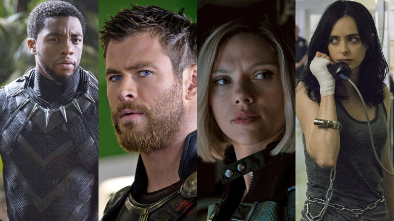 T'Challa, Thor, Nat, and Jess are getting a quartet of new adventures.