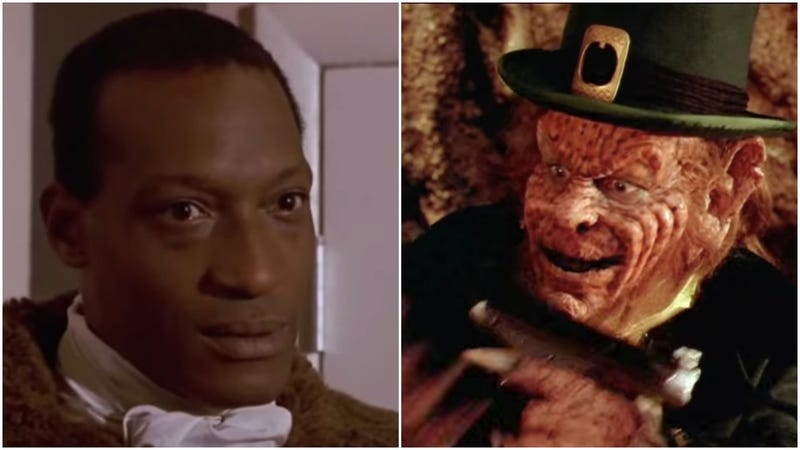 Candyman (left) and Leprechaun 4: In Space (right)