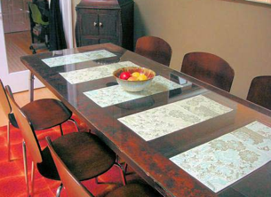 Weblog Design Sponge Details A Simple Step By For Converting An Old Door Into Attractive Dining Room Table On The Cheap Results Are Impressive