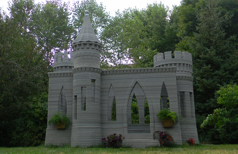 Illustration for article titled This Man 3D Printed an Entire Castle
