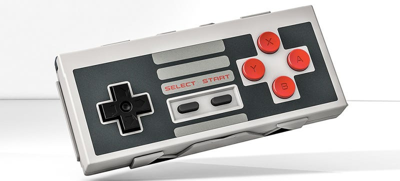 Illustration for article titled Master Mobile Gaming With This Upgraded Bluetooth NES Controller