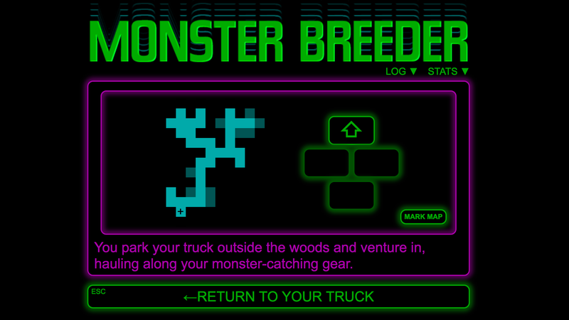 Screenshot: Monster Breeder