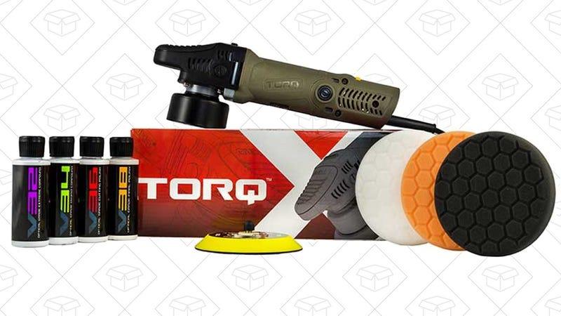 Torq TORQX Random Orbital Polisher Kit   $120   Amazon