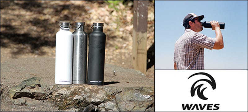 Illustration for article titled WavesGear: 30% Off The Forever Cold 34oz Insulated Water Bottle ($31)