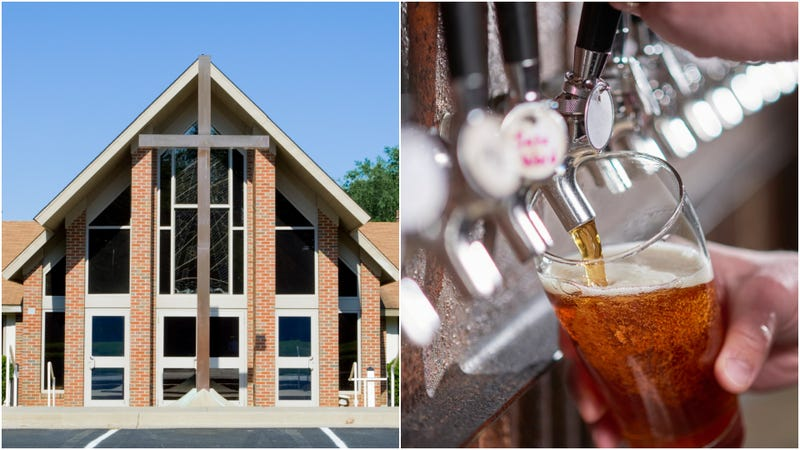 Illustration for article titled Our lager who art in heaven: California church builds its own brewery