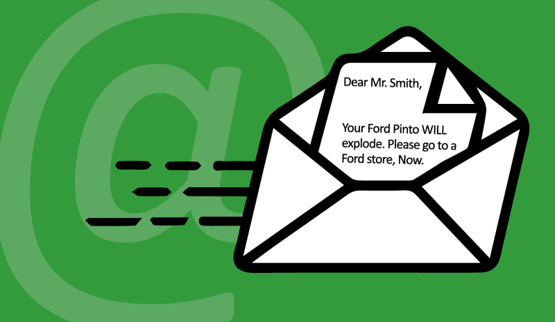 Illustration for article titled Now that your inbox is your mailbox, should recalls be emailed?