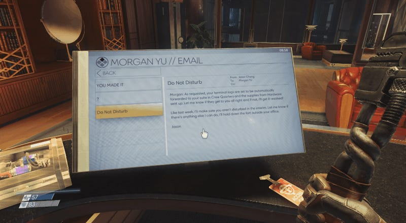 Prey's Mouse And Keyboard Controls Are Really Good