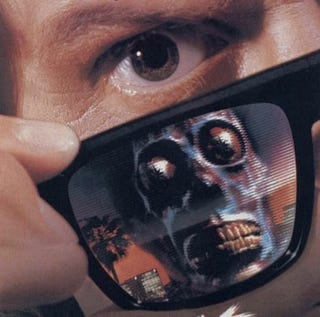 "Illustration for article titled ""They Live"" remake might ditch the infamous alien sunglasses"