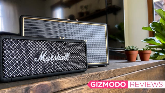Marshall s New Waterproof Bluetooth Speaker Sounds as Good as It Looks