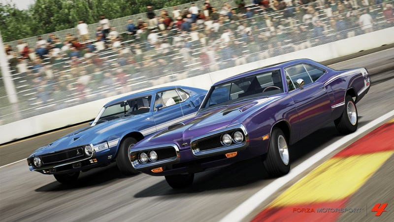 Your Dad Will Dig The Forza Motorsport Free Muscle Car Downloads