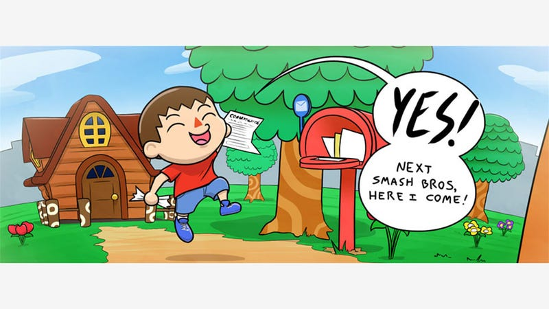 Illustration for article titled Animal Crossing's Smash Bros. Crossover: Food For Thought