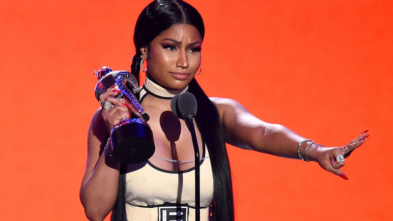Illustration for article titled Our Acceptance Speech Had We Won Nicki Minaj's 'Cocksucker of the Day' Award