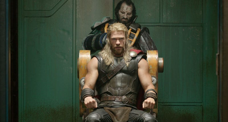 Thor is in deep crap in Ragnarok. Image: Disney