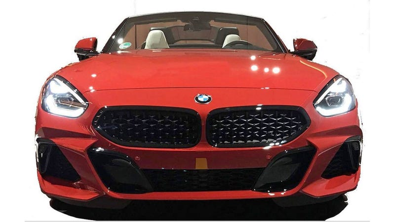Illustration for article titled A Leaked Image Could Be Our First Look at the 2019 BMW Z4