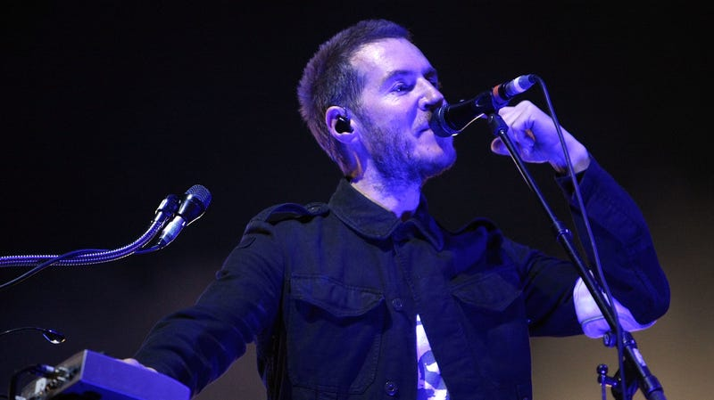 "Robert ""3D"" Del Naja, of Massive Attack"