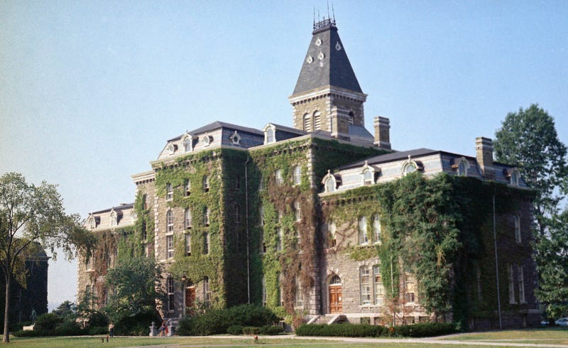 Photo: AP (Pictured: McGraw Hall on Cornell University campus, not the fraternity in question.)