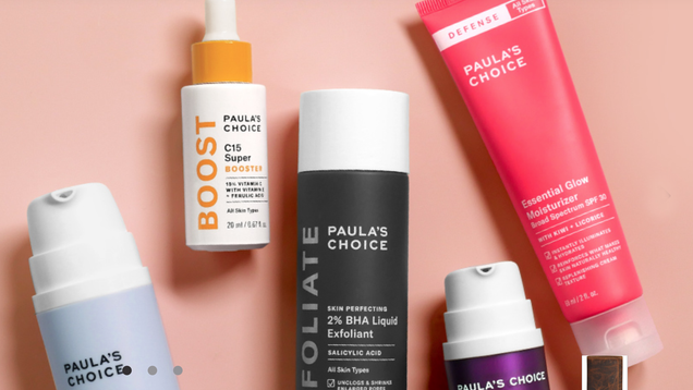 Upgrade Your Skincare Routine With 15% Off Sitewide at Paula s Choice