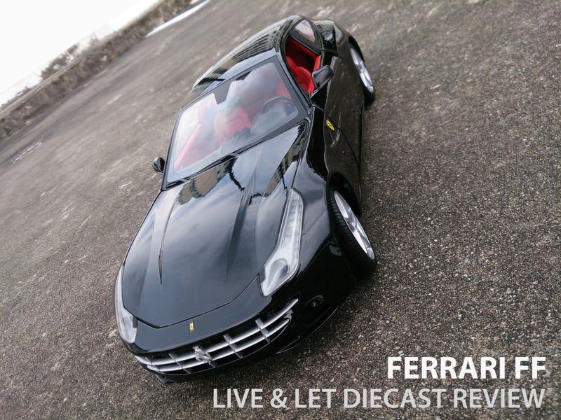Illustration for article titled Hot Wheels Ferrari FF: Review