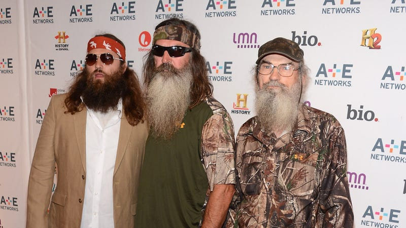 Illustration for article titled A&E Puts Duck Dynasty Bigot Back on the Air Because Fuck Integrity