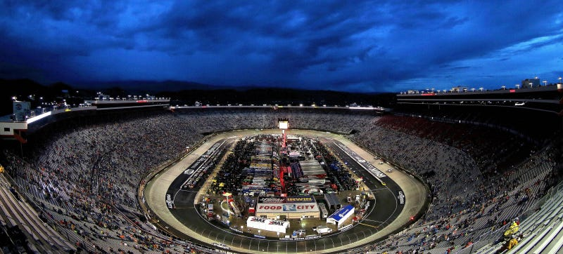 Illustration for article titled NASCAR Race Ends Just In Time For Bristol To Get Pounded With Rain