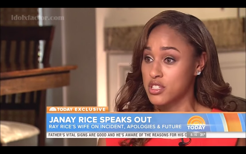 Illustration for article titled Ravens Deny Giving Janay Rice A Script Before May Press Conference