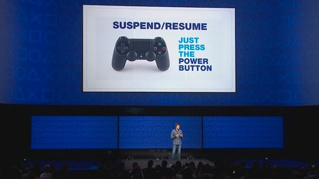 you can finally suspend on ps4 now