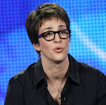 Illustration for article titled The Insane Rachel Maddow Interview To End All Interviews
