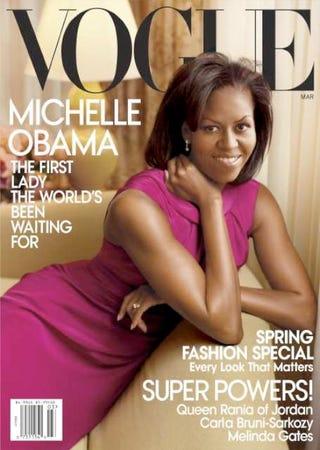 Michelle Obama's March 2009 Vogue cover