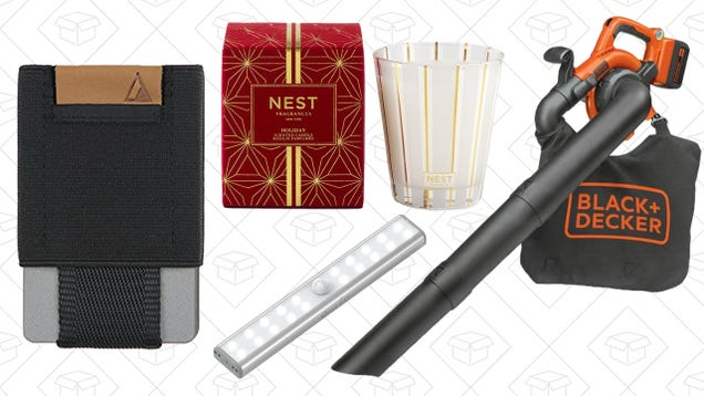 Saturday's Best Deals: Black + Decker, Nest Candles, Minimalist Wallets, And More