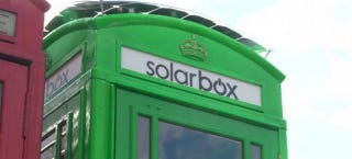 Illustration for article titled London's Turning Its Iconic Phone Booths Into Solar Charging Stations