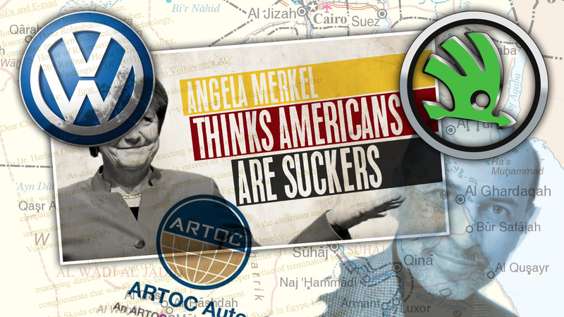 Illustration for article titled This Bizarre Beef Is The Real Story Behind Those Anti-Volkswagen Political Attack Ads (UPDATED)