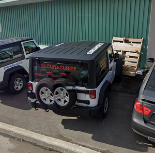 Illustration for article titled Rare widebody Wrangler spotted on Streetview