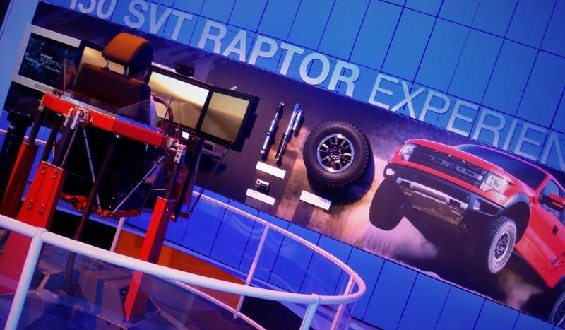 Illustration for article titled First Drive: 2010 Ford SVT Raptor...Video Game Simulator