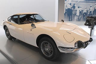 Illustration for article titled Toyota 2000GT