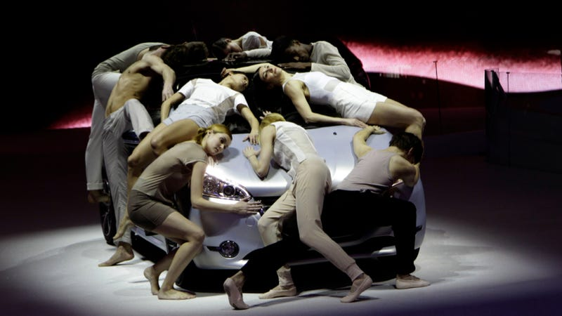 Illustration for article titled Desperate Peugeot Workers Forced To Sleep On Concept Car