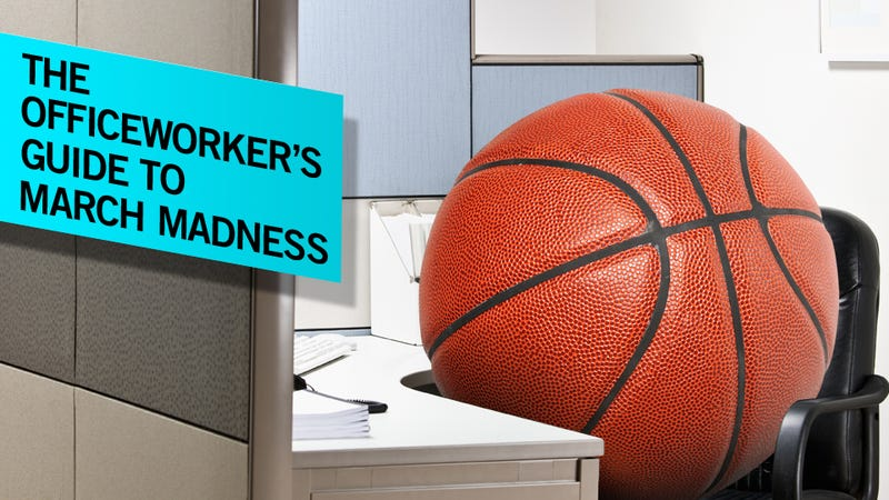Illustration for article titled How To Watch The NCAA Tournament At Work