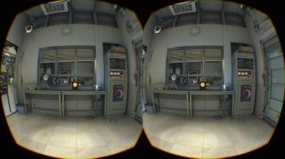 Illustration for article titled Esta es la espectacular demo de Portal 2 que Valve usa con el HTC Vive