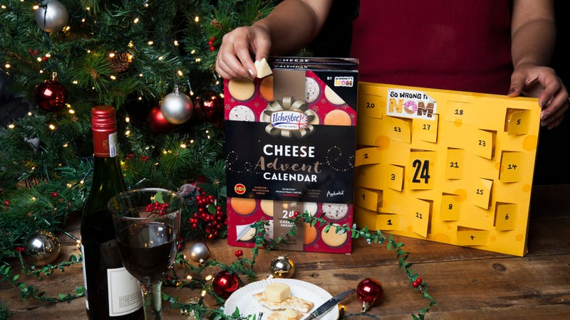 Illustration for article titled Havarti yourself a merry little Christmas with Target's cheese advent calendar