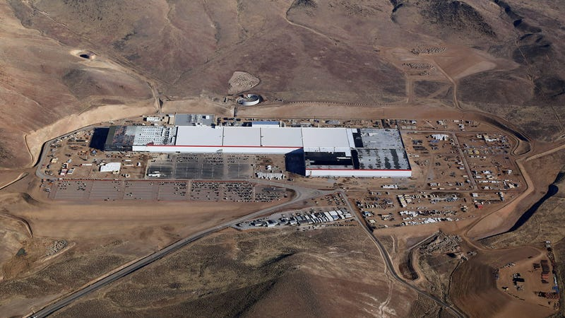 Tesla's Gigafactory in Nevada. Photo: Tesla