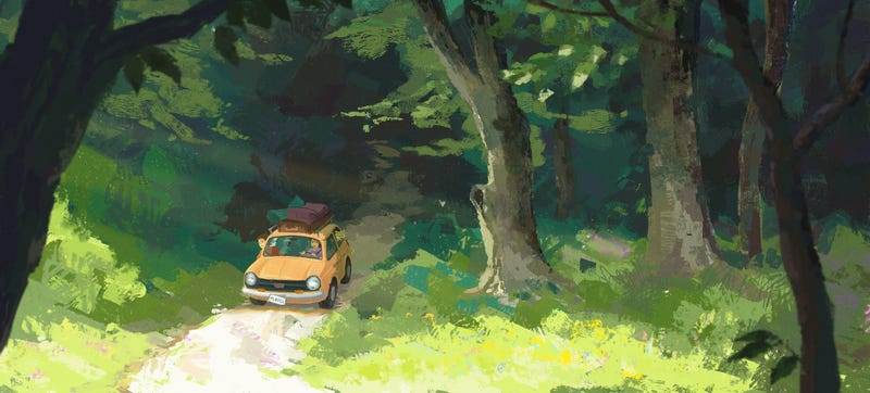 Illustration for article titled A Nice Drive In The Woods