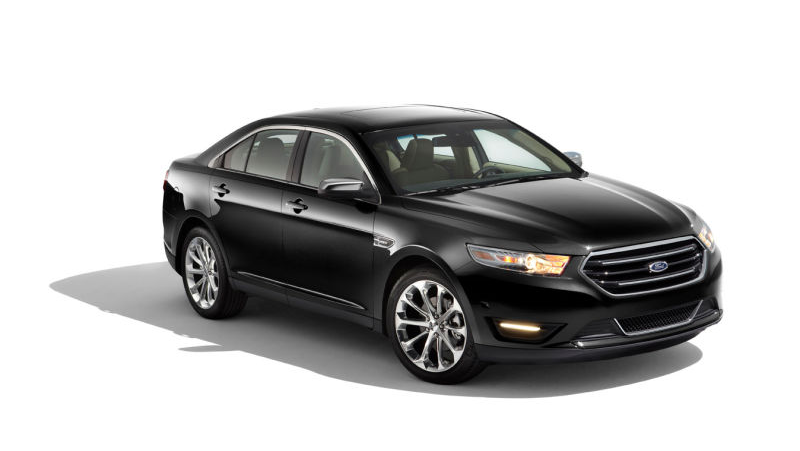 A 2013 Ford Taurus, like the one stolen and then returned. Photo: Ford