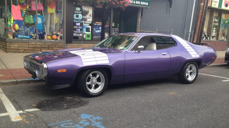 Illustration for article titled This Purple Plymouth Road Runner Represents A Beautiful Sadness